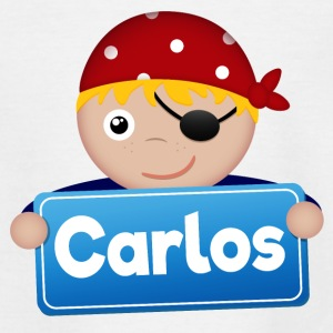 Little Pirate Carlos - Teenage T-shirt
