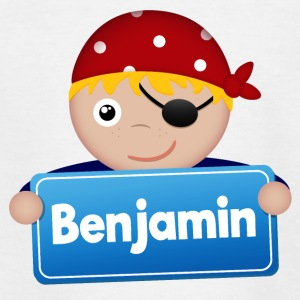 Little pirate Benjamin - Teenage T-shirt