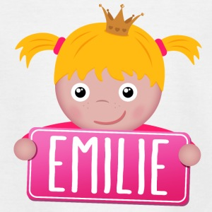 Little Princess Emilie - Teenage T-shirt