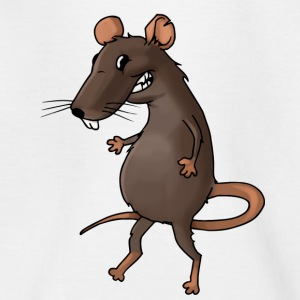 Fiese rat rodent vermin rodent mouse - Teenage T-shirt