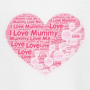 I Love Mummy - Teenager-T-shirt