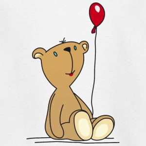 speelgoed Teddy Bear Balloon snoezige kinderen - Teenager T-shirt