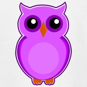 Colorful owl - Teenage T-shirt