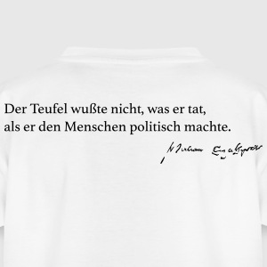 Shakespeare: Der Teufel wußte nicht, was er tat... - Teenager T-Shirt