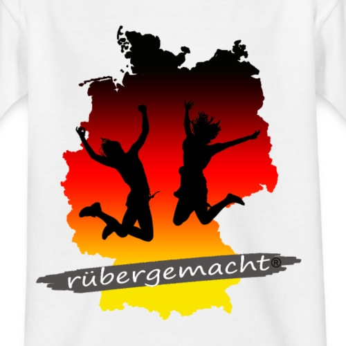 Rübergemacht - Teenager T-Shirt