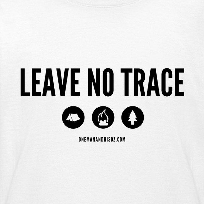 LEAVE NO TRACE Slogan