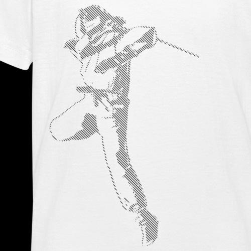 canniste lignes noir - T-shirt Ado