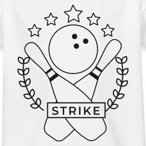 Strike Bowling - Teenager T-Shirt