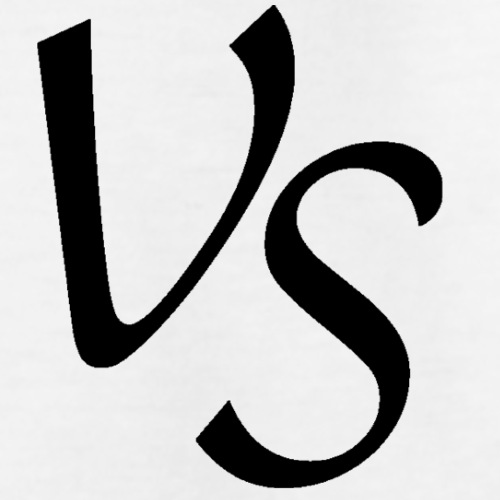 vs sort png - Teenager-T-shirt