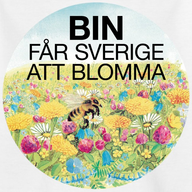 Bin får Sverige att blomma