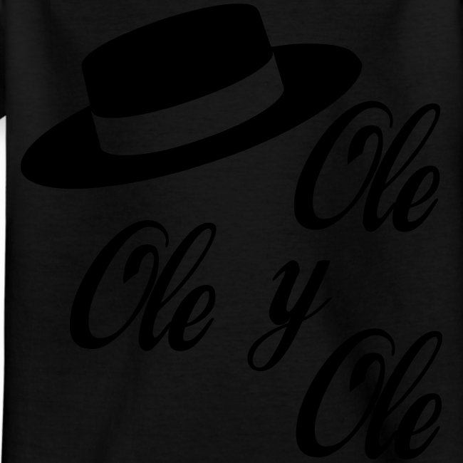 Ole,Ole y Ole (Hombre)