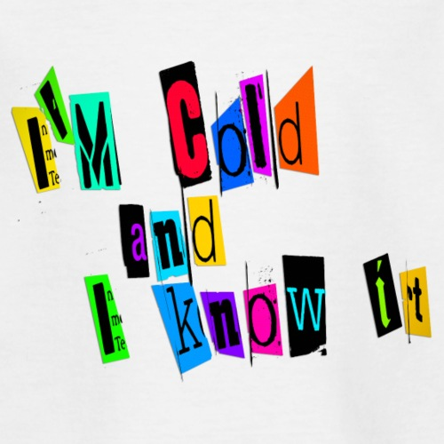 Am Cold - Nuorten t-paita