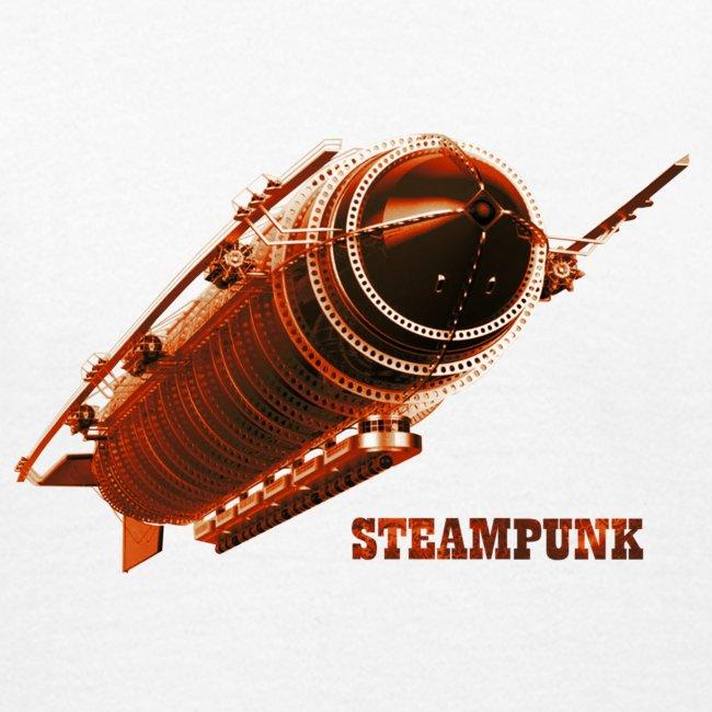 Steampunk Luftschiff Zeppelin Retro Futurismus