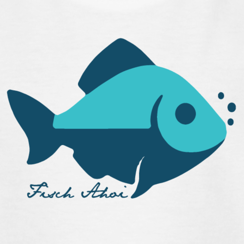 Fisch Ahoi - Teenager T-Shirt