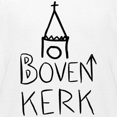Bovenkerk design losjes zwart - Teenager T-shirt