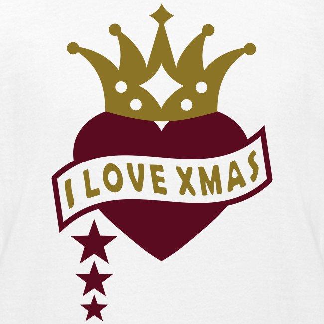 Mit Herz & Krone - I LOVE Xmas