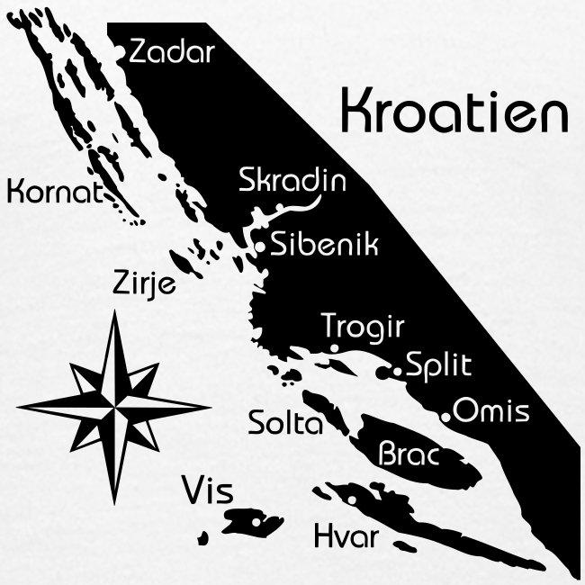 Kroatien Zadar bis Hvar