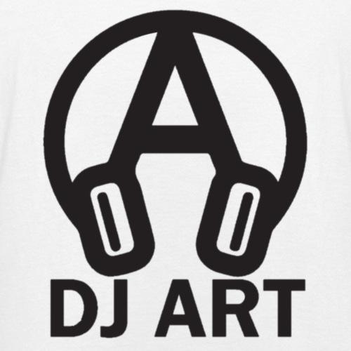 DJ Art (lichte pull-kleuren) - Teenager T-shirt