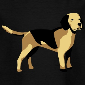 Hund, islæt islæt - Teenager-T-shirt
