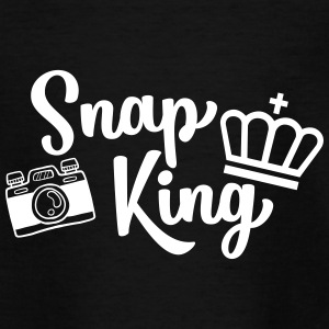 Snap King Funny Photography - Funny - Teenage T-shirt