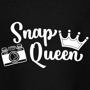 Snap Queen Funny Photography - Teenage T-shirt