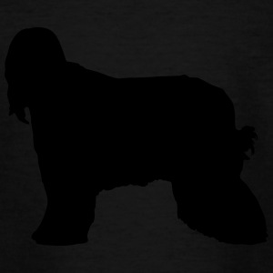 Vector dog Silhouette - Teenage T-shirt