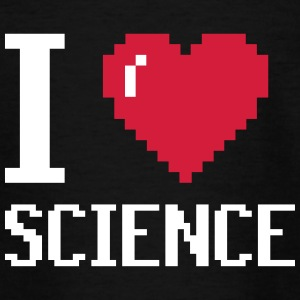 I Love SCIENCE - Teenager T-Shirt