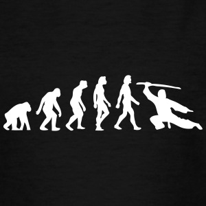 The Evolution Of Martial Arts - Teenage T-shirt