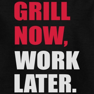 grilling - Teenage T-shirt