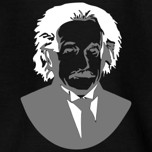 Albert Einstein geni buste billede grafik - Teenager-T-shirt
