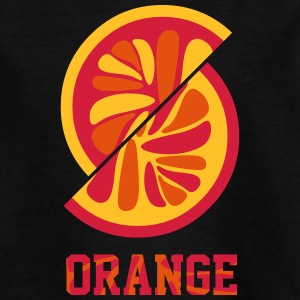 orange orange - Teenager-T-shirt