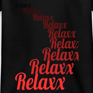 Relax red 1 - Teenage T-shirt