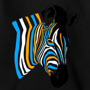 Multicolor Zebra - Teenager T-Shirt