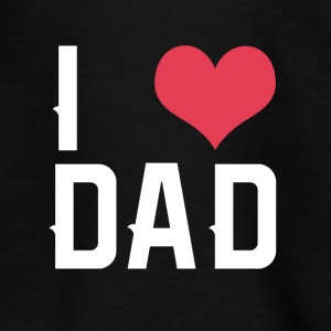 I Love Papa - Teenage T-shirt