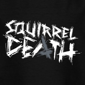 SQUIRREL DEATH - Original Logo - Teenage T-shirt