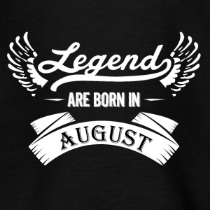 Legends August birthday - Teenage T-shirt