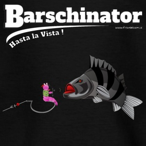 Barschinator - perch fishing - Fishyworm - Teenage T-shirt