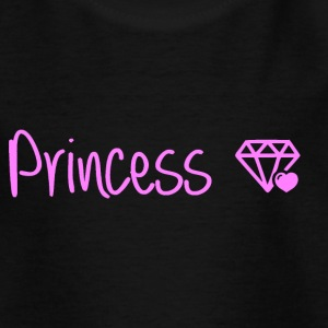 prinsesse - Teenager-T-shirt