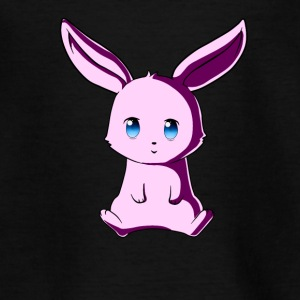 Kawaii rosa Häschen - Teenager T-Shirt