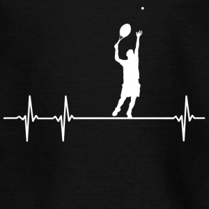 Heartbeat Tennis - Teenager T-shirt