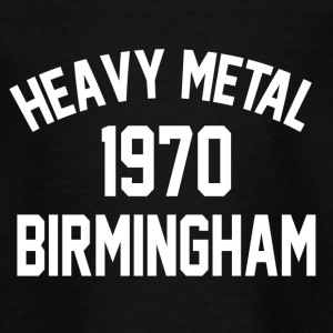 Heavy Metal 1970 Birmingham - Teenager T-shirt