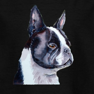 Boston Terriër - Teenager T-shirt