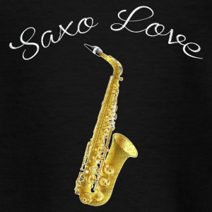 SAXOPHON LOVE SHIRT - Teenager T-Shirt