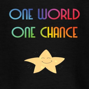 One World One Chance - Maglietta per ragazzi