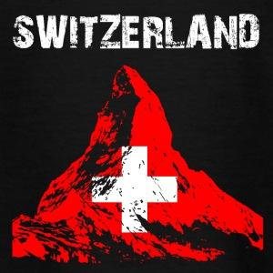 Nation-Design Switzerland Matterhorn - Teenage T-shirt
