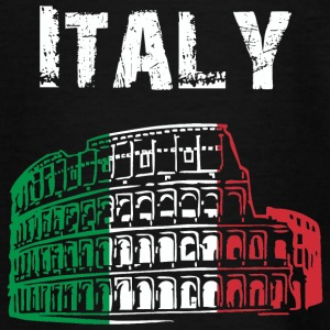 Nation-Ontwerp Italië 01 - Teenager T-shirt