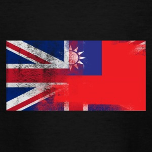 British Taiwanese Half Taiwan Half UK Flag - Teenage T-shirt