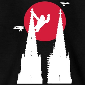Koeln Dom King Kong med sol - Teenager-T-shirt