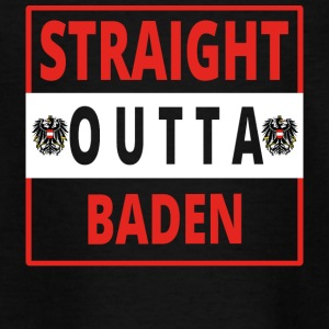 Straight outta Baden - Teenager T-Shirt