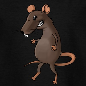 Fiese Ratte Nager Maus Ungeziefer Nagetier - Teenager T-Shirt